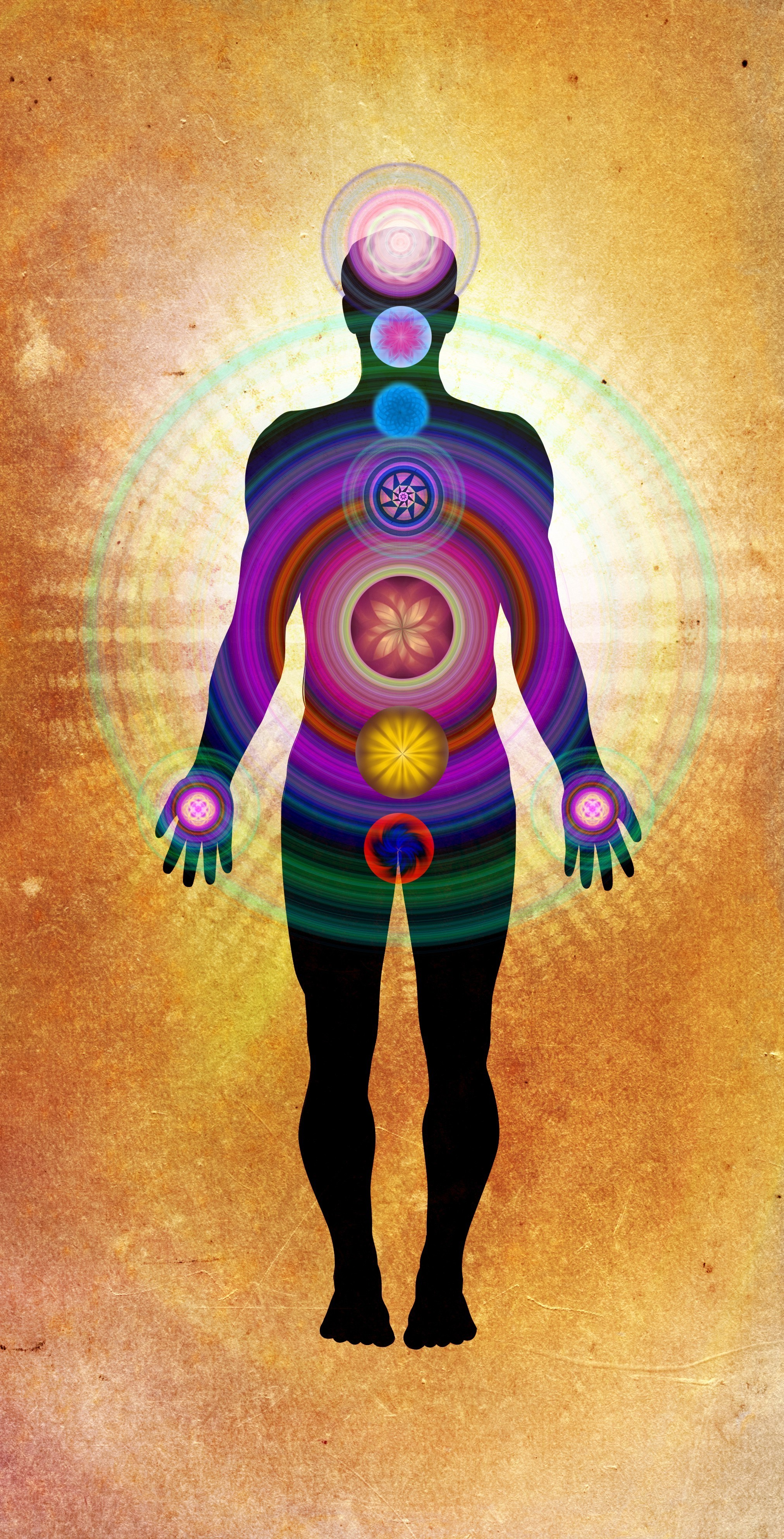 Metaphysical energy, life force, vital force and human nerve force ...